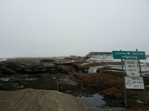 Дорога на Аляске