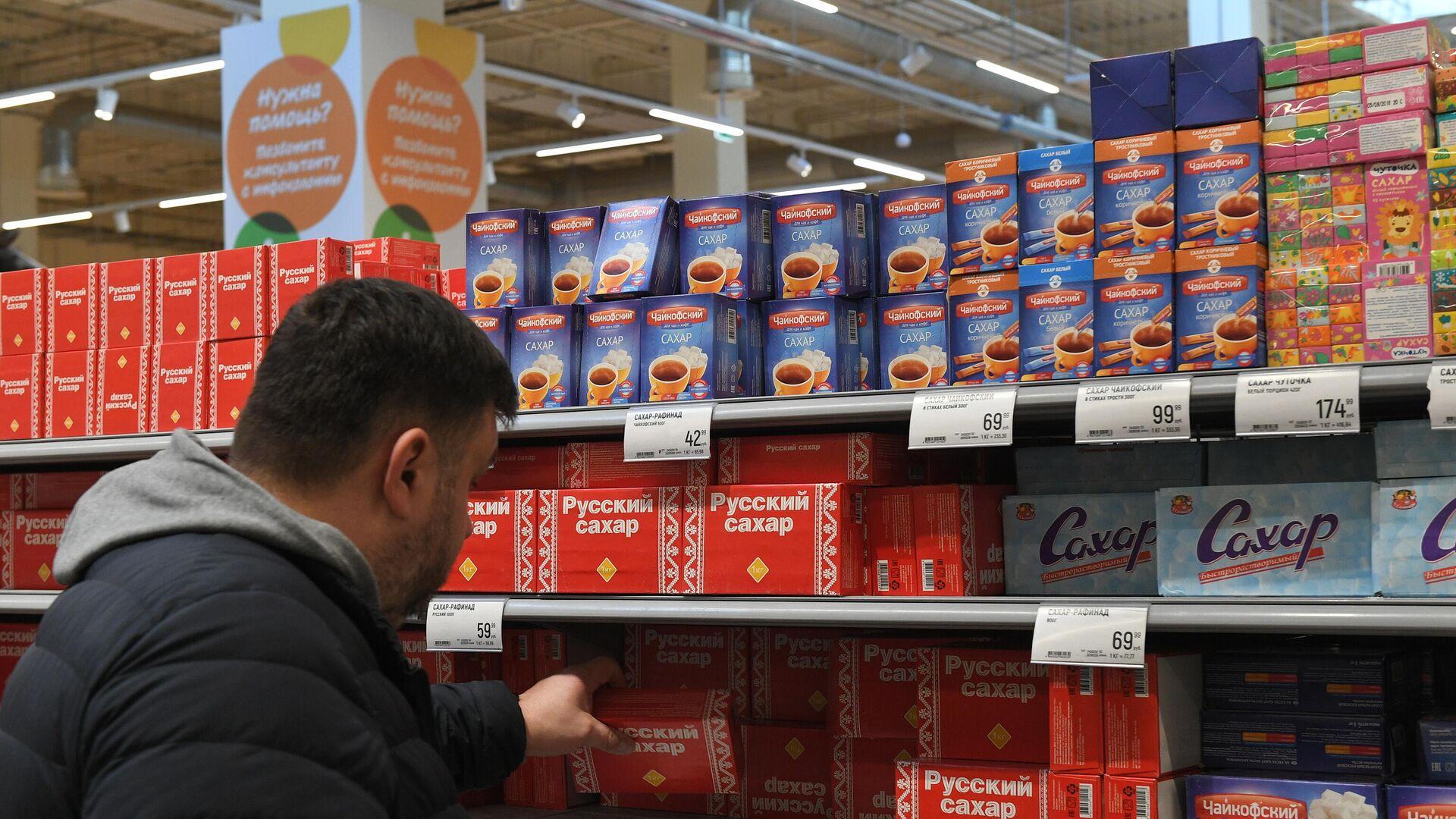 В ФАС объяснили рост цен на сахар