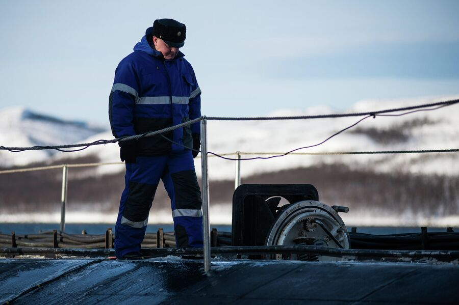Командир атомной подводной лодки Северодвинск