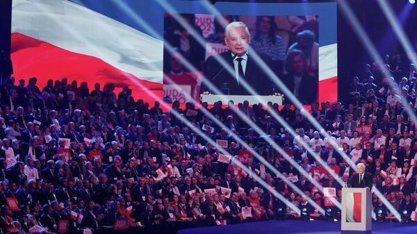 Предвыборная кампания Анджея Дуды в Варшаве