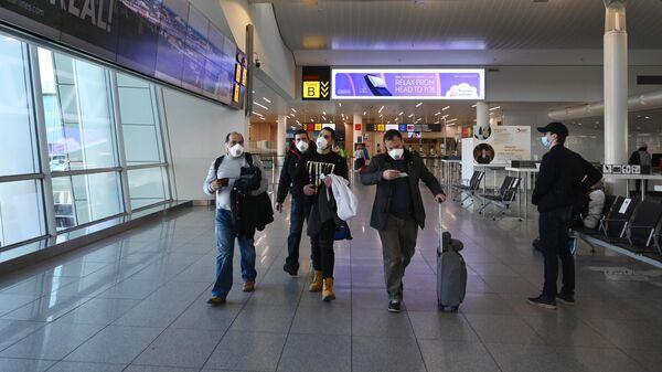 Ситуация в аэропорту Брюсселя в связи с коронавирусом