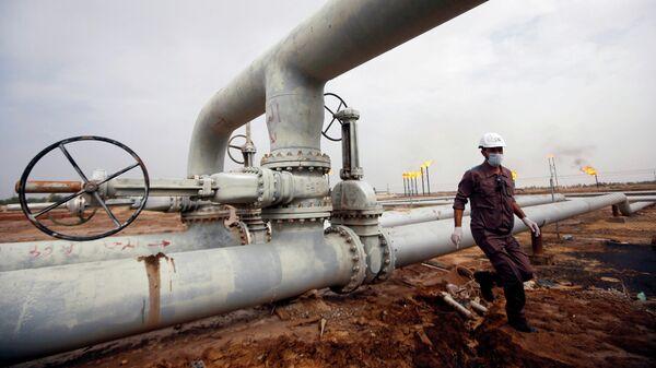 Нефтяное месторождение в районе Басры