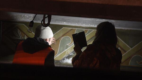 Реставрация Северного речного вокзала в Москве