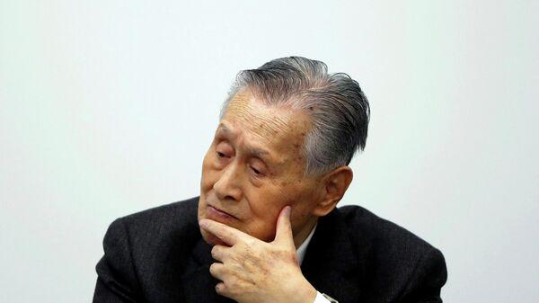 Глава организационного комитета Олимпийских игр в Токио 2020 года Ёсиро Мори