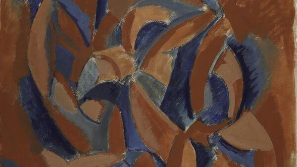 Пабло Пикассо. Три женщины. Эскиз картины. Гуашь, акварель. Между осенью 1907 и весной 1908. ГМИИ им. А.С. Пушкина