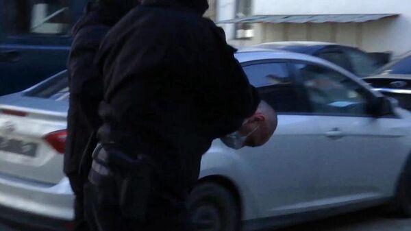 Задержание Майрбека Башаева, подозреваемого в нападении на военнослужащих 6 парашютной десантной роты 104 полка 76 Псковской дивизии ВДВ
