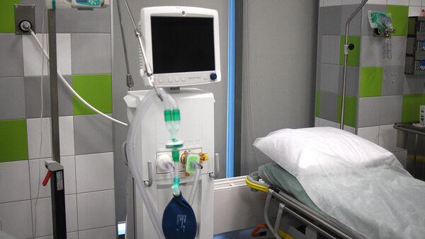 Бокс экстренной медицинской помощи в Ильинской больнице в Московской области