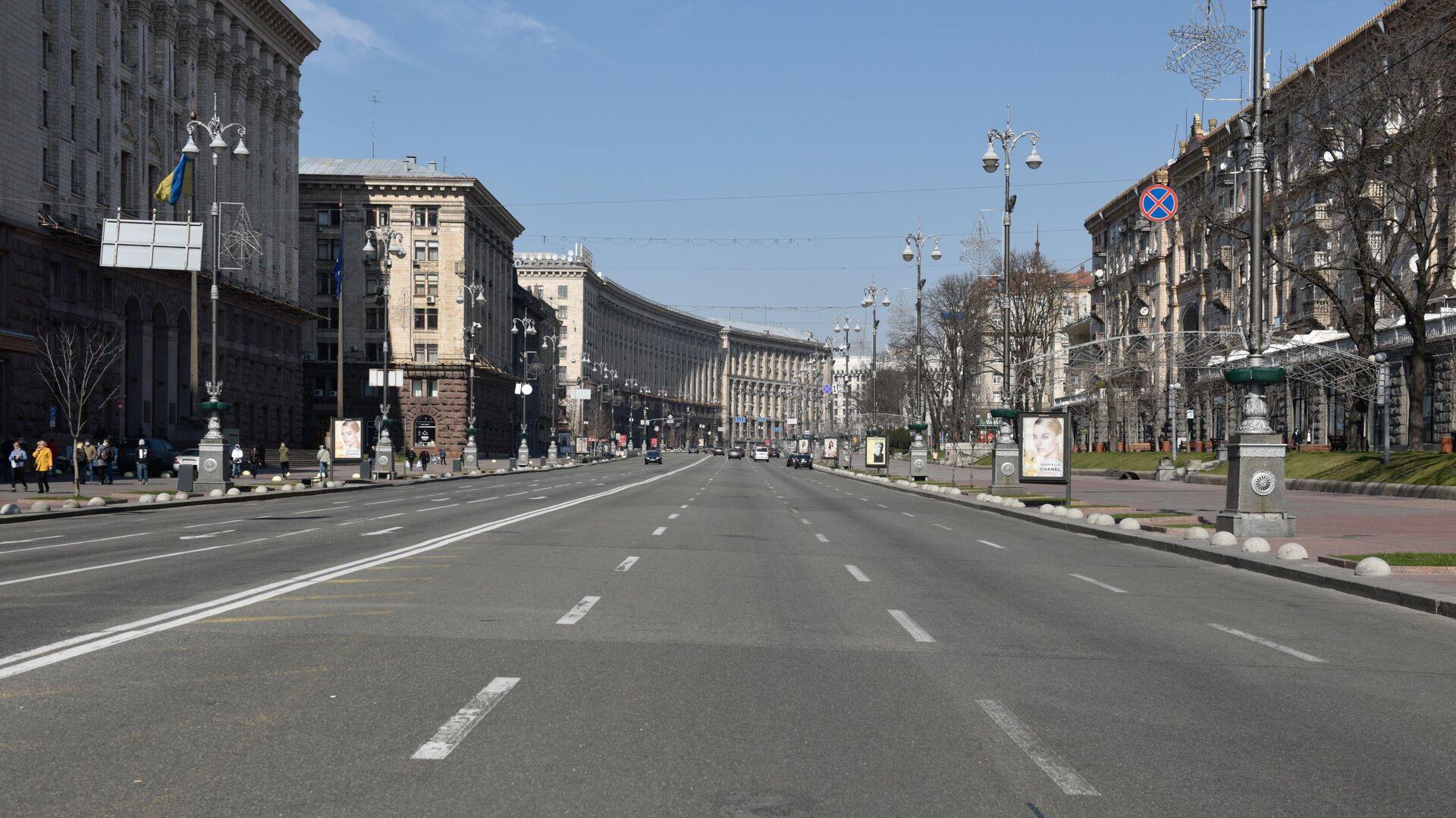 Улица Крещатик в Киеве - РИА Новости, 1920, 05.04.2021