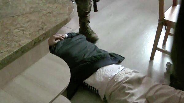 Задержание террориста в Краснодаре