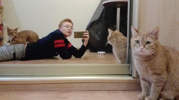 Джи Васильева у себя дома