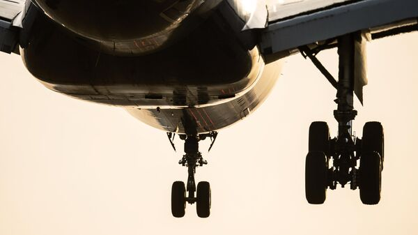 Шасси пассажирского самолета