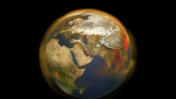 Новая 3D-карта NASA отслеживает накопление метана и движение в атмосфере