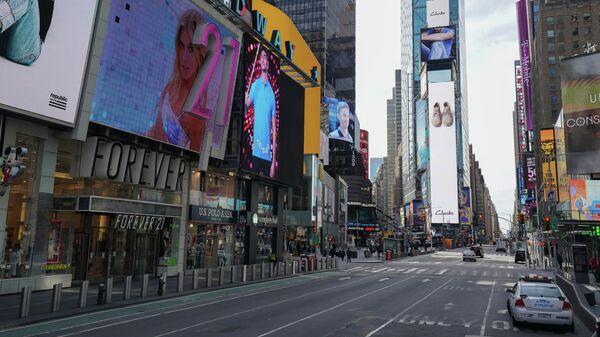 Улица Таймс-сквер в Манхэттене