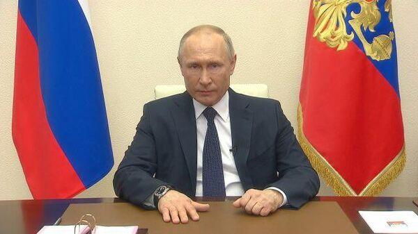 Путин предположил возможное сокращение нерабочего периода
