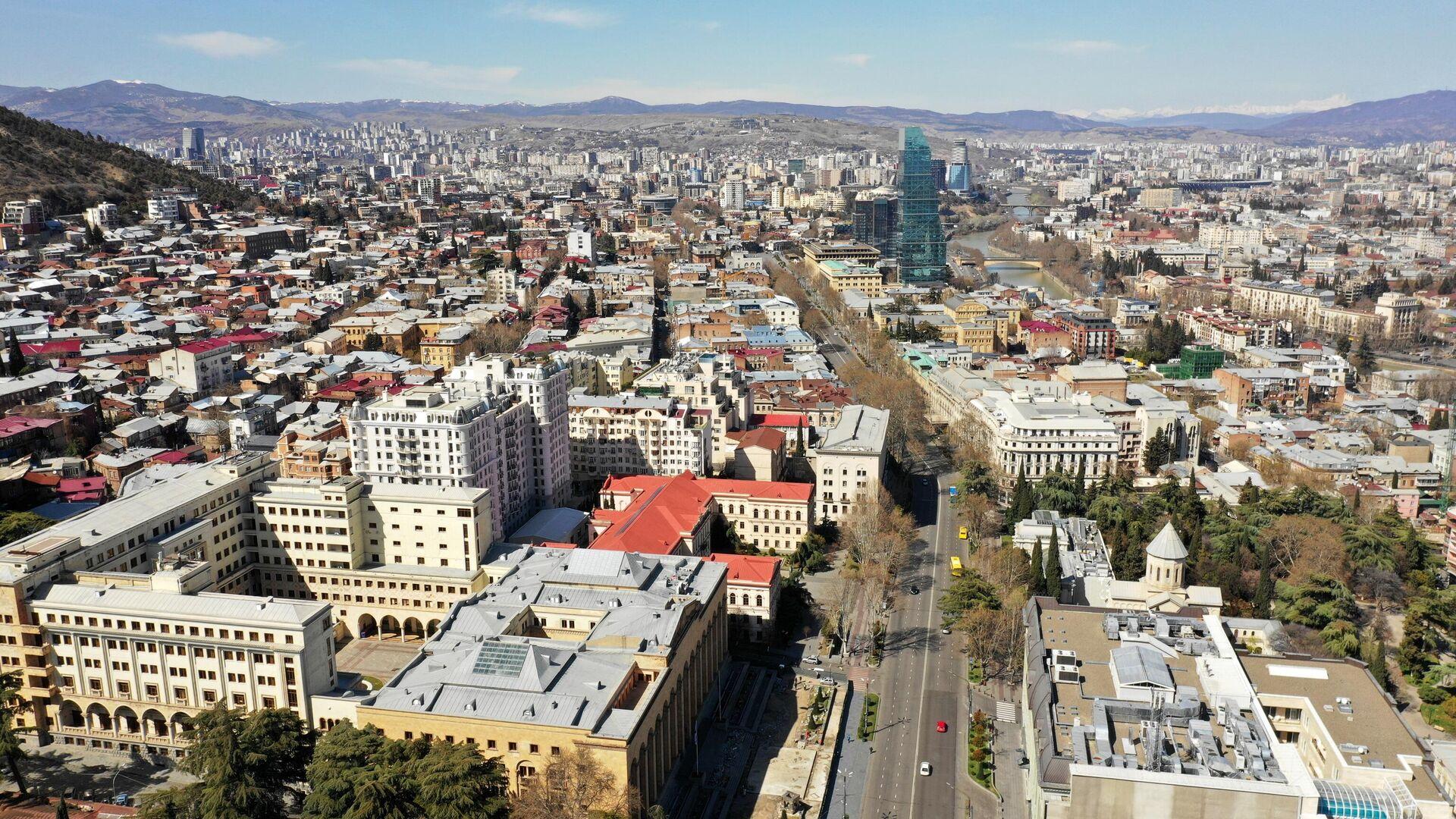 Вид на Тбилиси, Грузия - РИА Новости, 1920, 20.04.2021