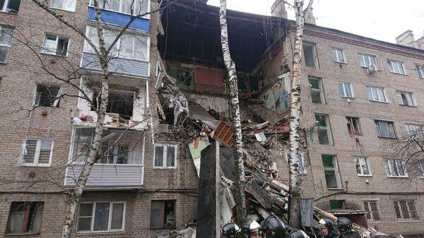 Взрыв газа в пятиэтажке в подмосковном Орехово-Зуево