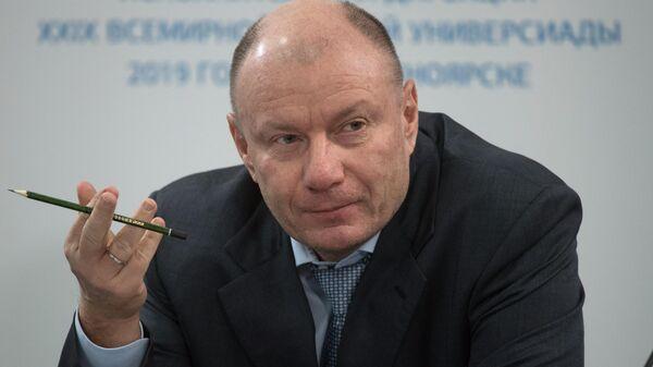 Президент, председатель правления компании ПАО ГМК Норильский никель Владимир Потанин