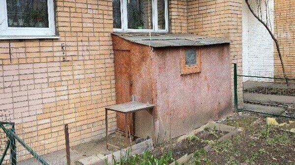 Незаконная пристройка в Хорошево-Мневниках