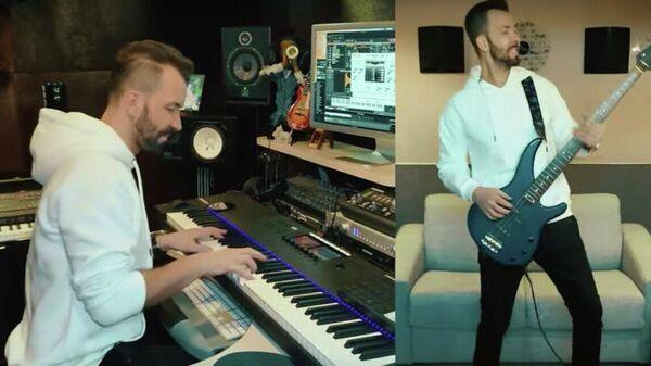 Кадр из музыкального клипа  на песню Ответ исполнителя Дениса Клявера