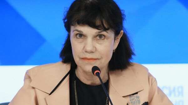 Директор ГМИИ им. А.С. Пушкина Марина Лошак