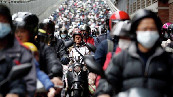 Люди в защитных масках, Тайвань