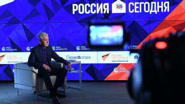 Собянин оценил оснащенность Москвы техникой для дезинфекции