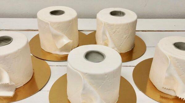 В Финляндии пекарня увеличила продажи, предлагая торт из туалетной бумаги