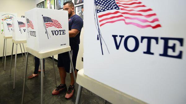 Голосование на промежуточных выборах в конгресс США