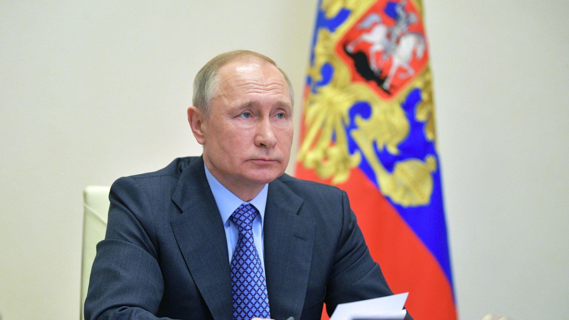 Президент РФ Владимир Путин - РИА Новости, 1920, 14.04.2020