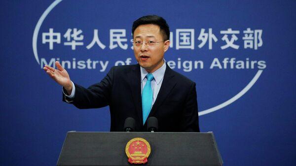 Официальный представитель МИД КНР Чжао Лицзянь