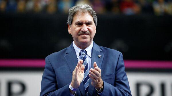 Президент Международной федерации тенниса (ITF) Дэвид Хэггерти