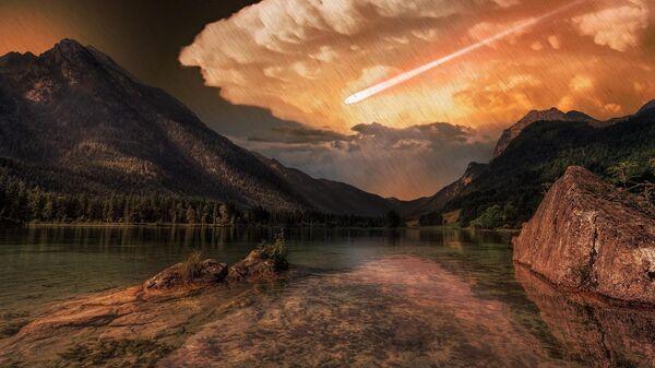 Комета, разрушившая древнее поселение
