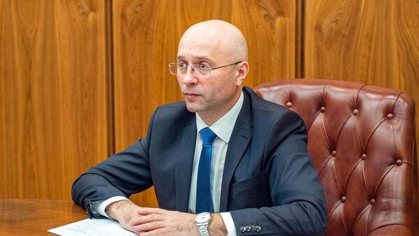 Исполняющий обязанности заместителя главы Хакасии Сергей Новиков