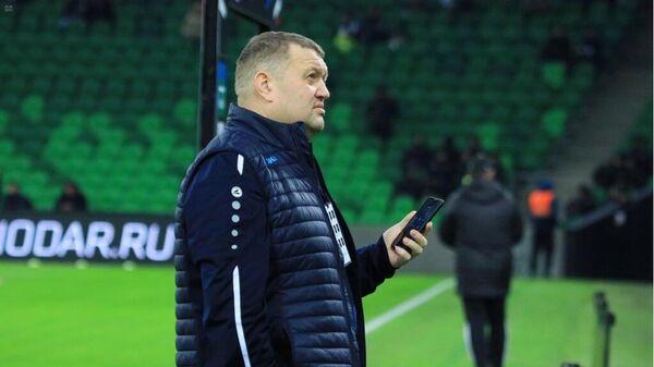 Спортивный директор футбольного клуба Тамбов Павел Худяков