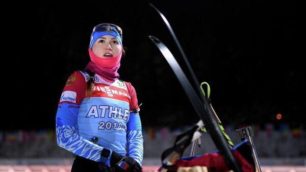 Биатлонистка Валерия Васнецова