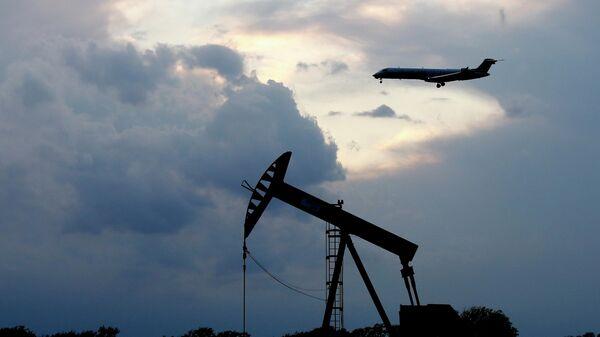 Нефтяной станок-качалка в Оклахома-Сити