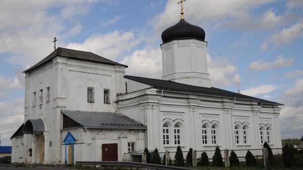 Церковь Успения Пресвятой Богородицы в городе Гжель