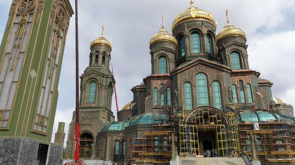 Главный храм Вооруженных сил России в парке Патриот