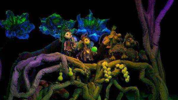 Спектакль Эльфы и тролли, и Волшебный шар Бурятского республиканского театра кукол Ульгэр