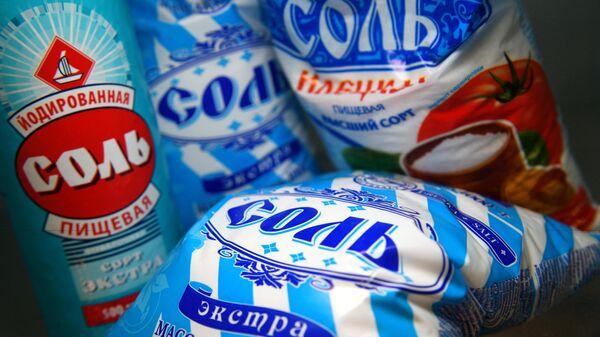 Упаковки с солью