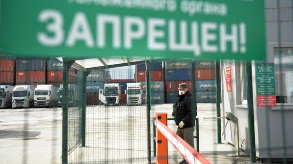 Въезд на Октябрьский таможенный пост в Екатеринбурге