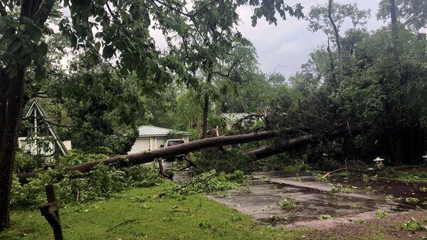 Последствия торнадо в штате Техас в США