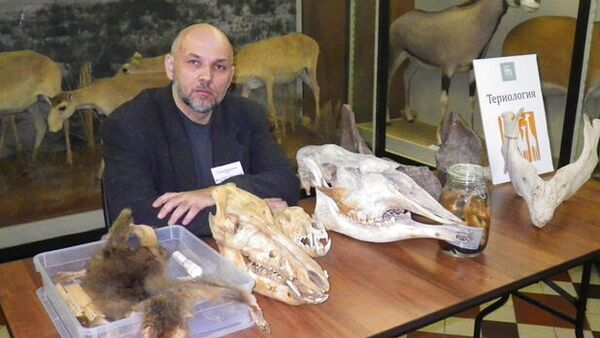 Биолог Сергей Крускоп