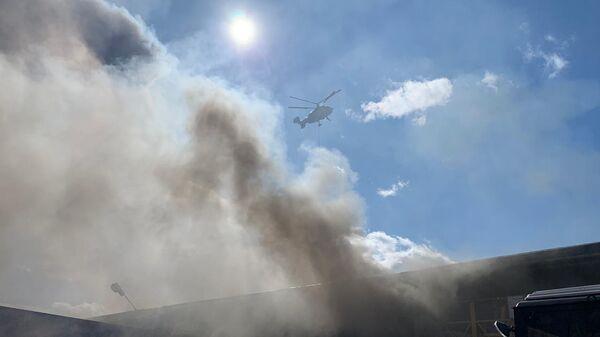 Пожар на Рязановском шоссе. 28 апреля 2020