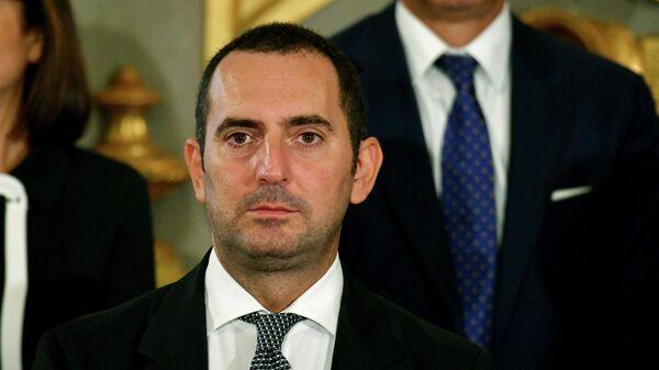 Министр спорта Италии Винченцо Спадафора