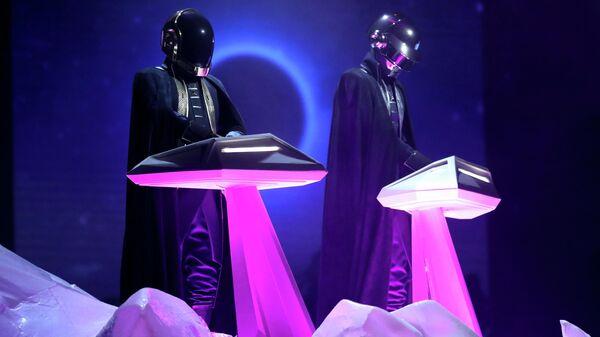 Французский музыкальный электронный дуэт Daft Punk