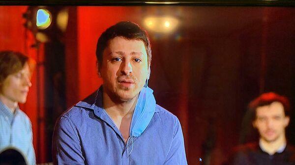 Скриншот выступления ансамбля Петра Востокова на благотворительном онлайн-марафоне Doctor Jazz Party