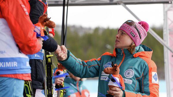 Двукратная олимпийская чемпионка по биатлону Анна Богалий