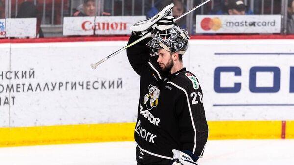Вратарь хоккейного клуба Трактор Иван Федотов