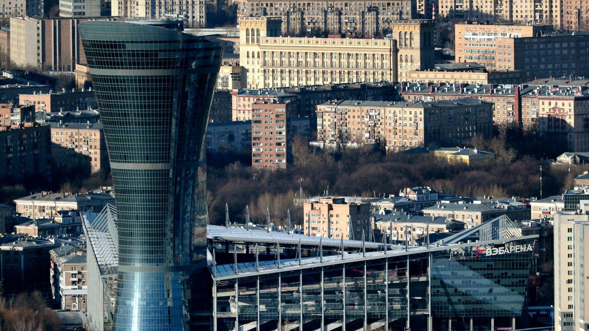 Вид на здание стадиона ВЭБ Арена  - РИА Новости, 1920, 05.06.2020